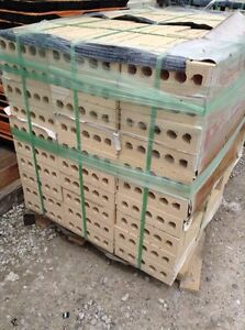 Large quantities of house brick