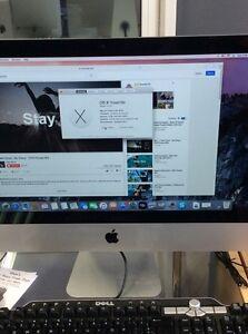 iMac OS X Yosemite late 2012