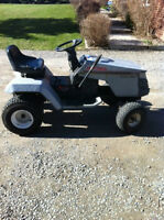 Parting out Craftsman lawn tractor -- no engine or cutting deck
