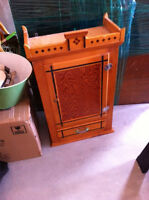 Vintage Hutterite ministers cupboard