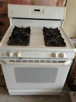 Full sized propane gas stove with natural gas conversion kits