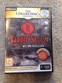 Vampire saga 2 PC cd- rom