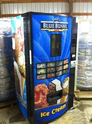 Fastcorp Ice Cream Frozen Food Vending Machine Model Fri-z400 Free Ship