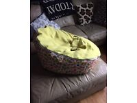 Baby beanbag for sale