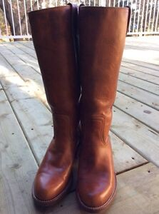 Brown Leather Boots Strathcona County Edmonton Area image 3