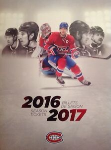 Billets de hockey / Hockey tickets