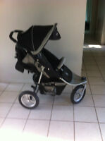 Valco Baby Runabout Tri-Mode Jogging Stroller in Ex. Condition