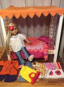 Authentic American Girl Doll Julie Large Lot