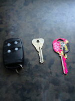 Found: house keys and home security FOB