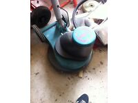 Floor scourer/polisher