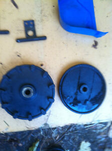 YAMAHA YS624 SNOW BLOWER WHEEL COGS CABLE COVER AND SHOOT SHAFT Windsor Region Ontario image 2