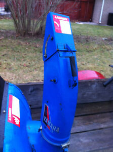YAMAHA YS624 FRONT SCOOP WITH THE AUGER Windsor Region Ontario image 9
