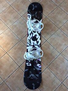 K2 Snowboard and bindings