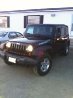 Black Jeep Wrangler Unlimited