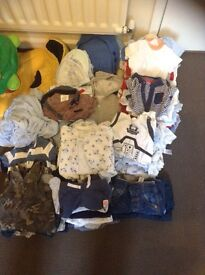 Massive baby boy clothes bundle