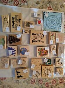 Assorted Christmas-Themed Rubber Stamps - $1.00 and Up Kawartha Lakes Peterborough Area image 5