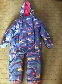 Joules Snow suit