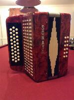 accordéon sonata A-D-G