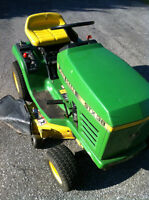 JOHN DEERE 12.5 KHOLER ENGINE STX38 YELLOW DECK 5 SPEED Windsor Region Ontario Preview