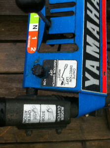 YAMAHA YS624 SNOW BLOWER CONTROLS HANDLES IGNITION CABLES Windsor Region Ontario image 3