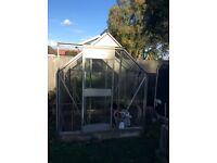 Aluminium green house