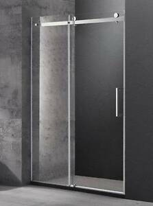 Wall to wall frameless sliding shower screen [1600 x 1950 mm] Moorabbin Kingston Area Preview