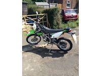 Kawasaki klx 125 2013 low mileage