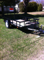 3ooo lb utility Trailer Barely used