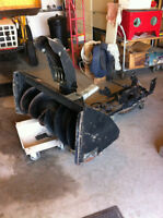 snowblower for small garden tractor