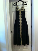 EVER-PRETTY NICE LACE DETAIL MAXI EVENING DRESS, SZ.S, NEW