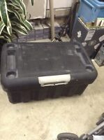 "Smart Bin Storage trunk 39""w 23""d 20""t Auction: Tools &"