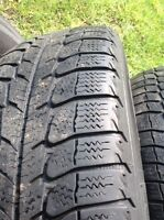 4 Michelin X Ice Snow Tires with rims- Wasaga
