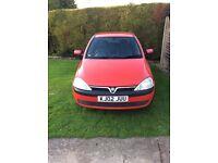 Vauxhall corsa 1.2 comfort 2002