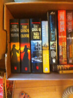2 Boxes of Hardcover Books