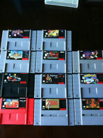 Super Nintendo games . All games Mint
