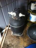Sand filter from above ground pool