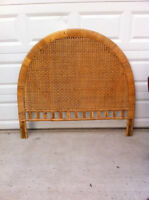 Wicker Headboard for Double Bed