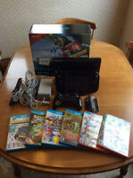Nintendo Wii U w/ 6 games and Pro Controller in new condition