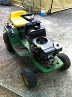 JOHN DEERE 12.5 KHOLER ENGINE STX38 YELLOW DECK 5 SPEED