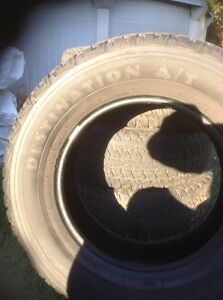 All seasons Firestone A/T tires for sale - 275 65R18 Gatineau Ottawa / Gatineau Area image 3