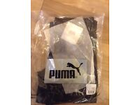 Brand new: Puma Power Softshell Long Running Tights Bottoms. Genuine with all tags and labels