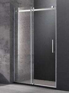 Wall to wall frameless sliding shower screen [1600 x 1950 mm] Moorabbin Kingston Area Preview