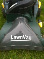 YARDWORKS 110 volt LEAF Vacuum ! With Bag