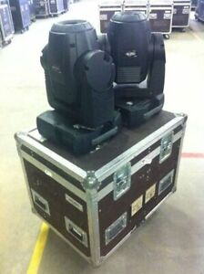 Martin Mac250 Entours - 2 Pairs Available (4 Total) w/Road Cases