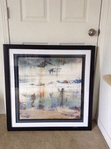 Large modern art  picture  frame 32 by 32 inches