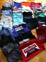Lot 35 articles vêtements homme Hilfiger Puma Lacoste G-star +++