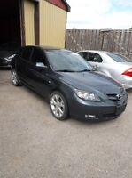 PARTING OUT ONLY 2009 Mazda 3i