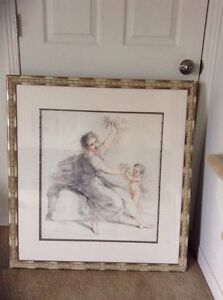 Large picture frame 34 by 33.5 inches