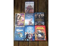 Eight DVDs For Sale (including frozen)