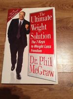 Dr Phil McGraw The Ultimate Weight Solution Hardcover Book